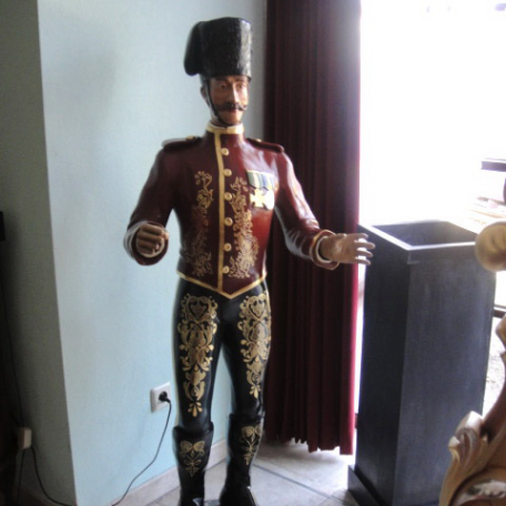 Male  bandmaster organ figure Schef
